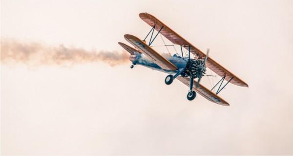 Retro Flugzeug