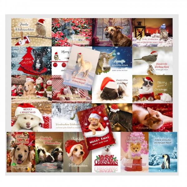 Weihnachtskarten Mit Tiere Lustig Ausgefallen Hund