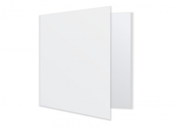Quadratische Doppelkarte Faltkarte