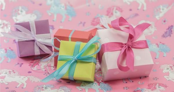 Geschenke klein verpackt
