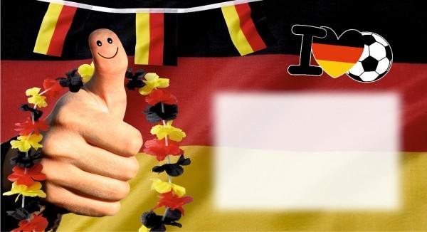 I love Fußball Deutschland