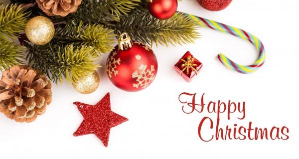 Weihnachtsdeko Happy Christmas