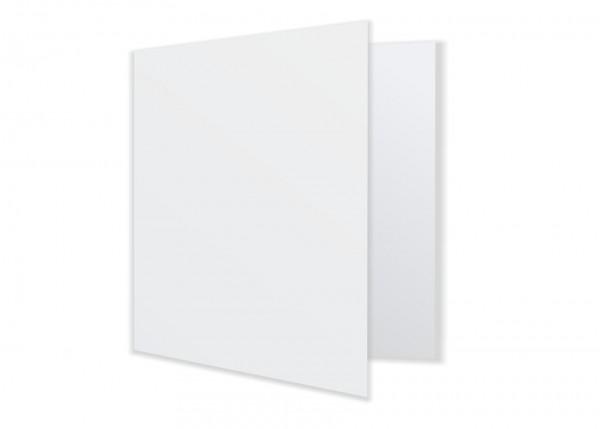 Quadratische Faltkarte