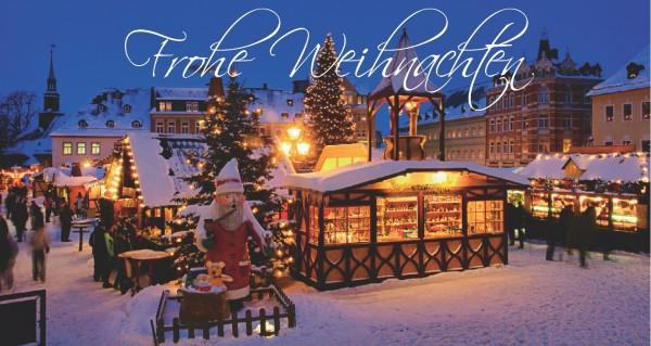 Frohes Fest vom Weihnachtsmarkt