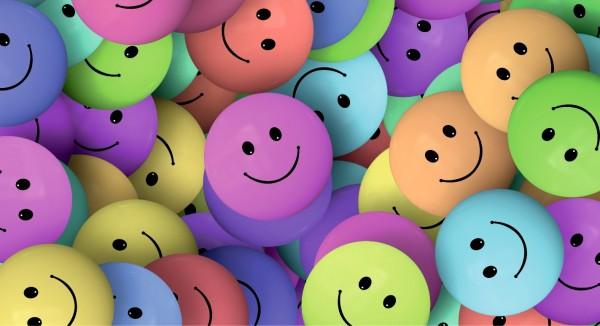 bunte Smileys