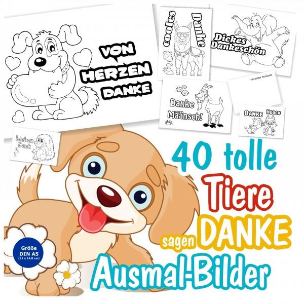 Dankeschön Dankeskarten Karten Geschenk Tier