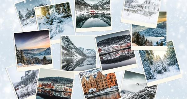 Winterimpressionen Collage