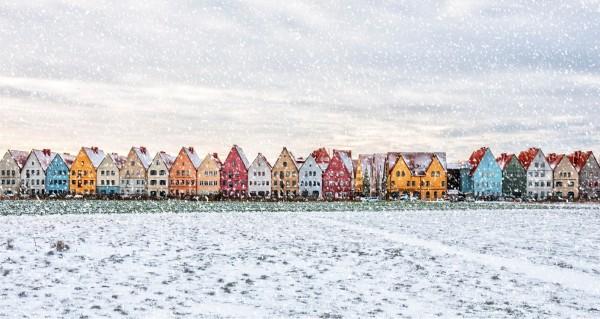 nordische Winterlandschaft