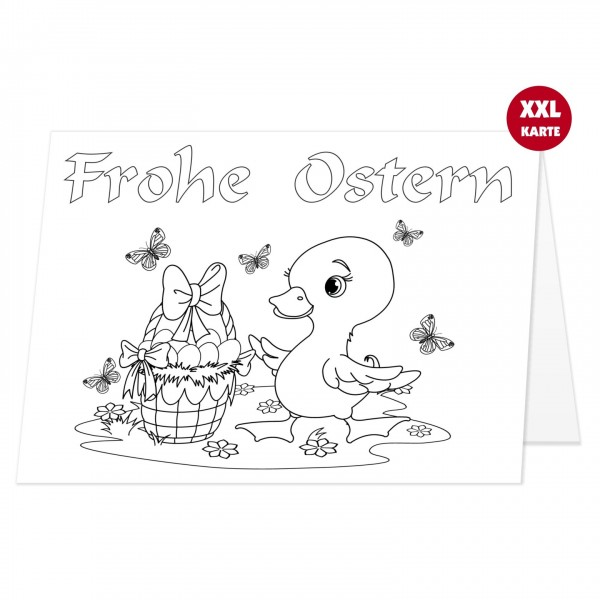 Osterkarte Für Kinder Groß Opa Patentante