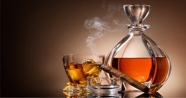 Whisky und Zigarre