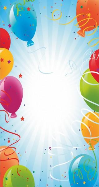 Luftballons hochkant