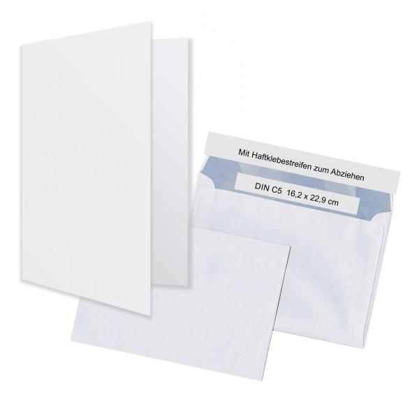 Klappkarten Mit Umschlag Einzelkarten A5