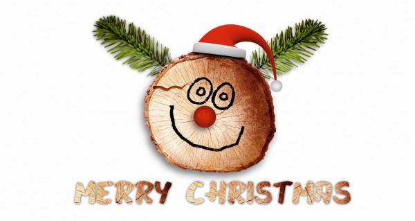 Merry Christmas Baumschnitt