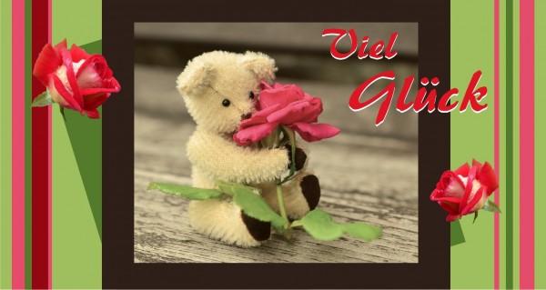 Viel Glück Teddy