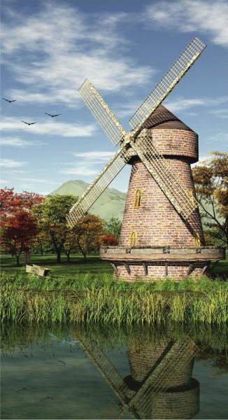 Windmühle Vintage