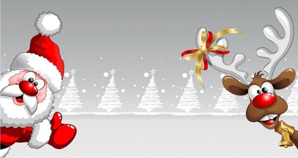 Rudolph und der Weihnachtsmann