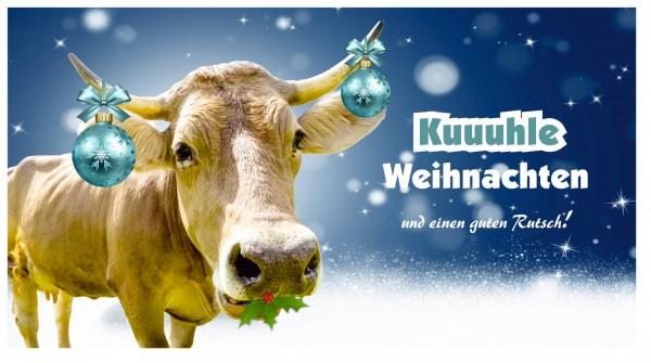 Kuhle Weihnachten Weihnachtskarte Postkarte