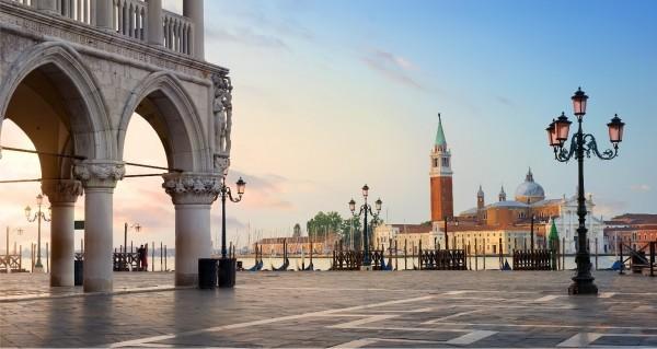 Venedig am Markusplatz