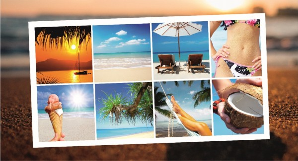 Collage Urlaubsgefühle