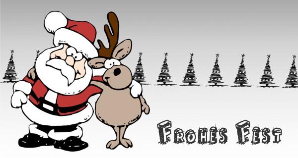 Frohes Fest mit Rudolf
