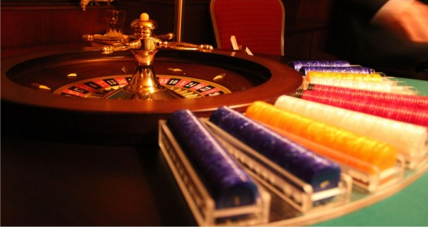Roulette mit Chips