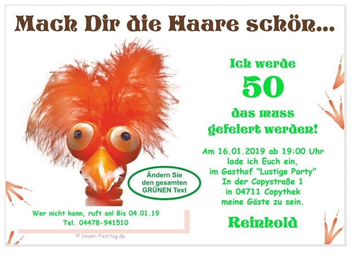 Geburtstag Einladungskarten Lustig Schon Wunsch Alter Text 18 20