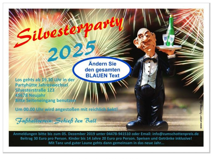 Silvester single party 2020 oldenburg