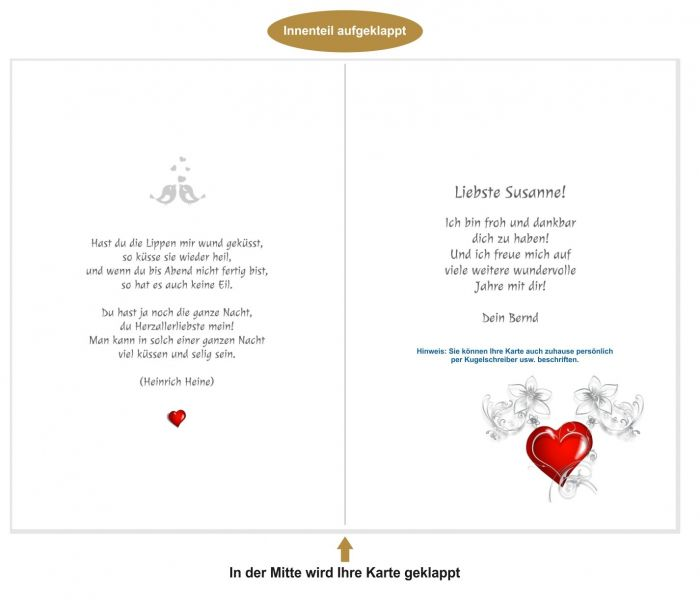 Große Auswahl An Glückwunschkarten Für Hochzeiten, Geburtstage, Verlobungen  Uvm.