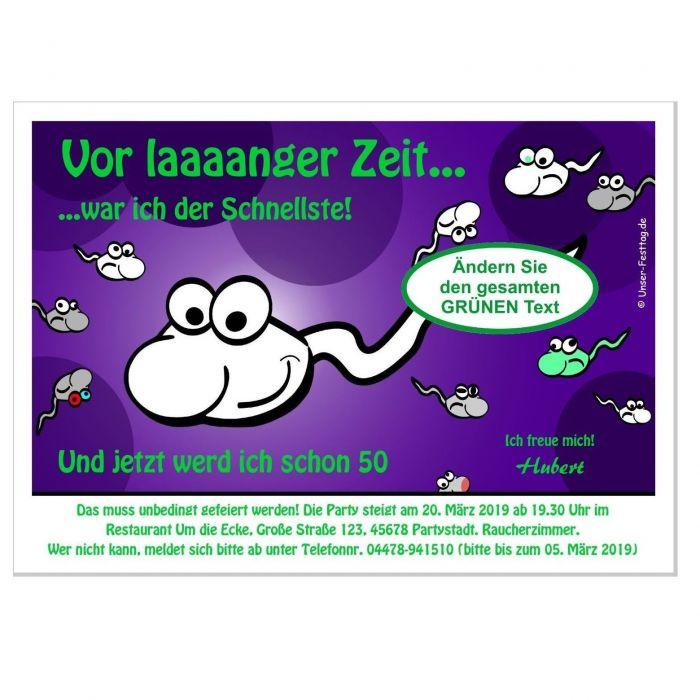 Einladungskarten Zum Geburtstag Witzig Wunschtext 30 40 50 60